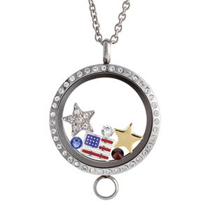 Picture of Independence Day Locket - USA